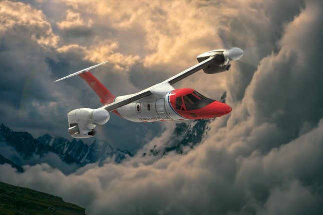 The AW609 can take off and land on a helipad, making point-to-point transportation easy for executives who need to travel farther than a helicopter will go. Photo courtesy of Leonardo