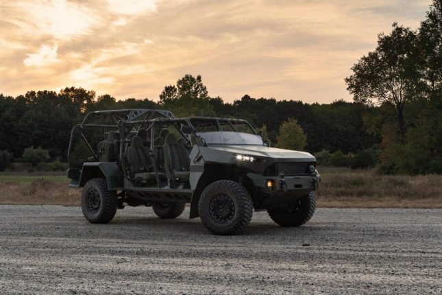 GM Defense delivered the first Infantry Squad Vehicle to the Army Tuesday. Photo courtesy of GM Defense