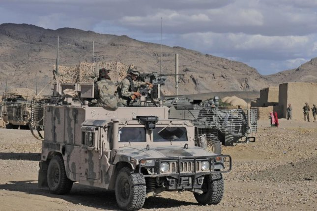 AM General has received a $356 million U.S. Army contract modification to provide 1,673 High Mobility Multipurpose Wheeled Vehicles for Afghanistan. The Afghan Border Police are shown here in 2012. U.S. Army photo