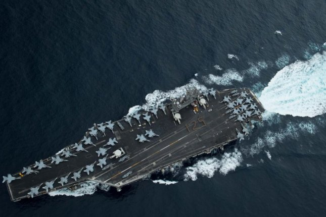 The USS Theodore Roosevelt may have entered the South China Sea, according to a Hong Kong press report. File Photo courtesy of United States Navy