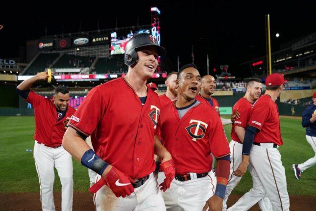 Minnesota Twins outfielder Max Kepler is hitting a career-high .279 this season. Photo by @Twins/Twitter