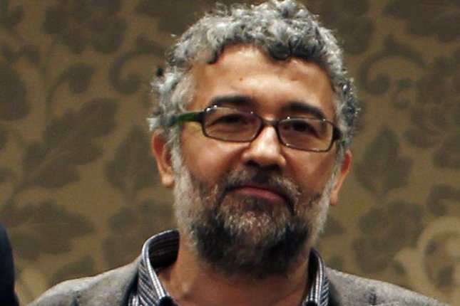 An undated photo of Erol Onderoglu made available by Reporters Without Borders in 2016. Onderoglu and two others were found not guilty in Turkey Wednesday of supporting terrorism. Photo by Sedat Suna/EPA