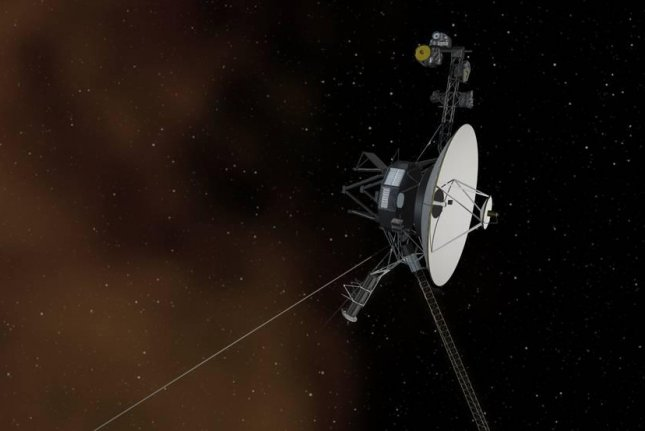 The illustration shows NASA's Voyager 2 spacecraft breaking through the wall of hydrogen at the edge of the heliosphere and entering interstellar space. Photo by NASA/JPL-Caltech