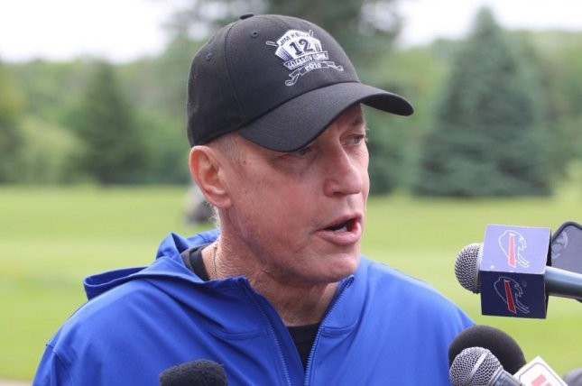 Pro Football Hall of Fame quarterback Jim Kelly (pictured) announced on Monday that he has been selected as the 2018 recipient of the Jimmy V Award for Perseverance at the ESPY Awards in July. Photo courtesy of Buffalo Bills/Twitter