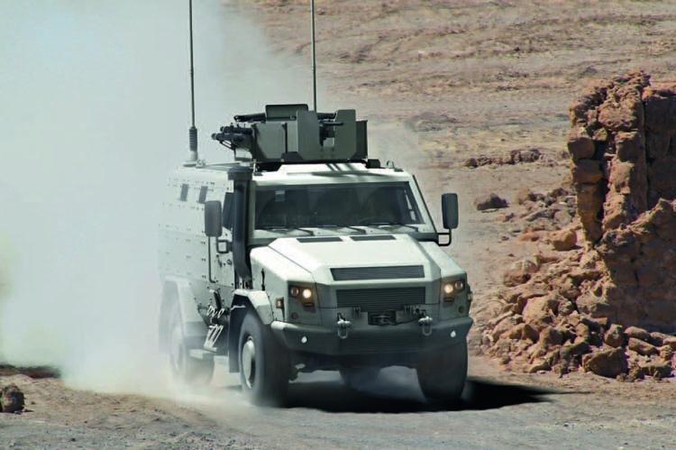 German federal state Saxony will receive two Survivor R police vehicles, their manufacturer, Rheinmetall, announced Tuesday. Photo courtesy of Rheinmetall