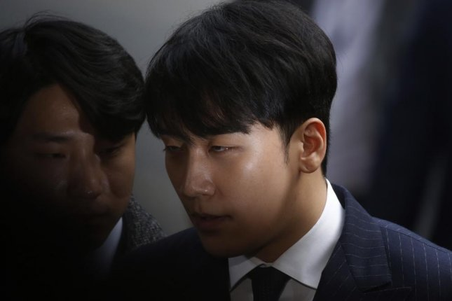 Seungri, a former member of boy band Big Bang, was a co-owner of a shuttered nightclub in Seoul, South Korea. File Photo by Jeon Heon-kyun/EPA-EFE