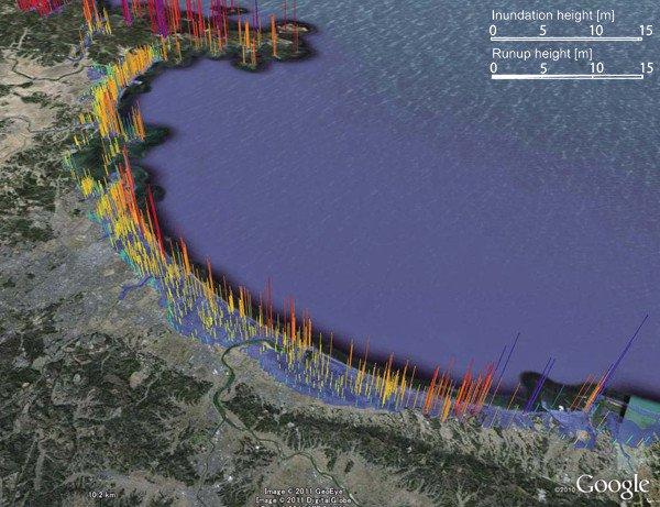 Detailed map of Japanese tsunami created - UPI com