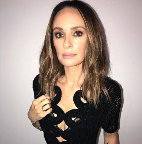 Catt Sadler said she quit E! News after learning her co-host Jason Kennedy was earning close to double her salary. Photo by Catt Sadler/Instagram