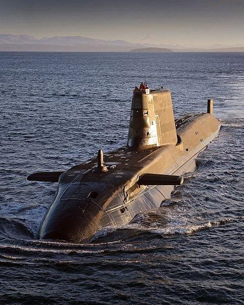 Astute-class submarine HMS Ambush. (Photo: Will Haigh)