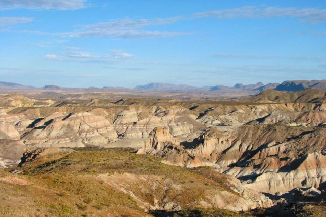The Devil's Graveyard Formation, a geologic formation in Far West Texas, contains fossils hailing from the latter half to the Eocene epoch. Photo by Chris Kirk