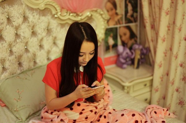 Shen Man, a Chinese live-streamer featured in a new documentary from filmmaker Hao Wu, struggles with the price of popularity on social media. Image courtesy of Hao Wu