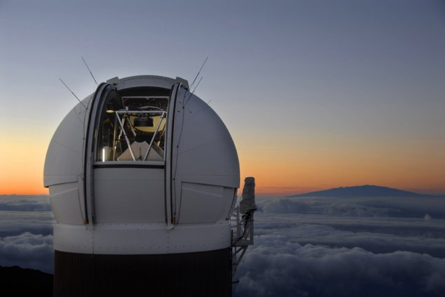 The Pan-STARRS PS1 observatory, courtesy of the Harvard-Smithsonian Center for Astrophysics.