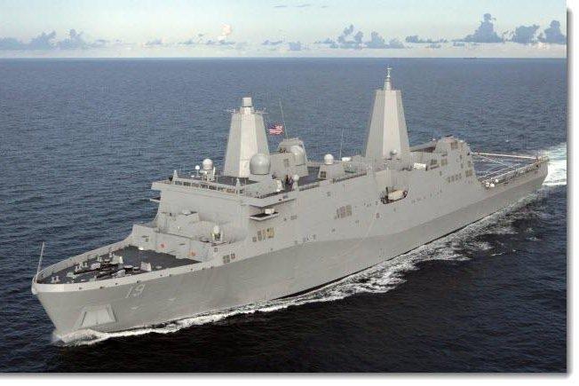 The USS Mesa Verde. (U.S. Navy)