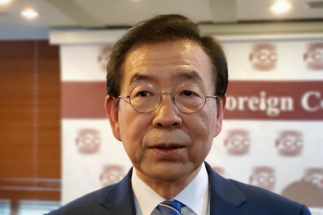 Seoul Mayor Park Won-soon was found dead after his daughter filed a police report on Thursday. Photo by Thomas Maresca/UPI