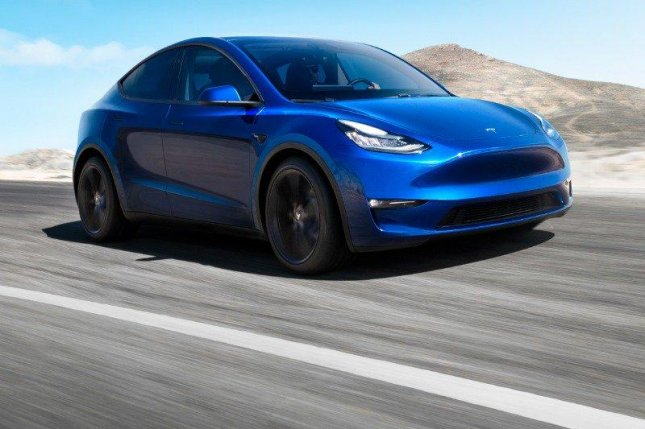 Tesla launches its first compact SUV, the Model Y