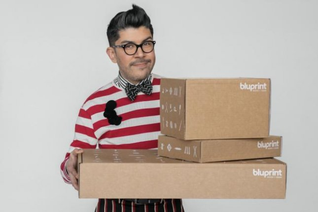Mondo Guerra, winner of Season 1 of Project Runway All Stars, is the host of Runway Remake. Photo courtesy of Bluprint