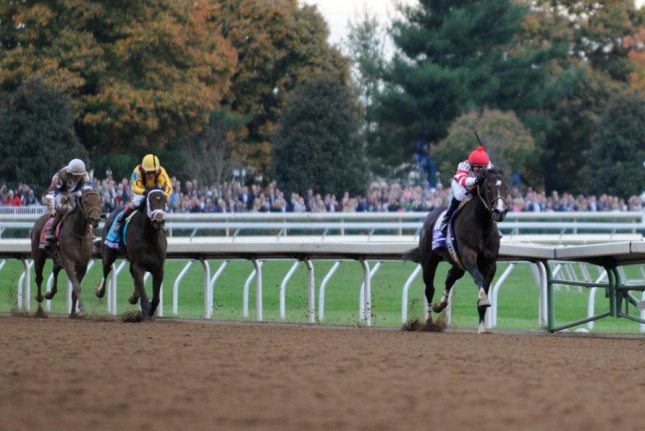 Songbird, seen winning the 2015 Breeders' Cup Juvenile Fillies at Keeneland,