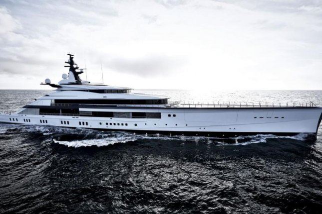 The Bravo Eugenia is 357 feet and valued at $250 million. Photo courtesy of Oceanco Yacht