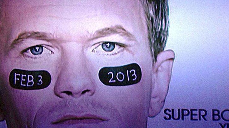 Neil Patrick Harris Super Bowl ad. CREDIT: CBS