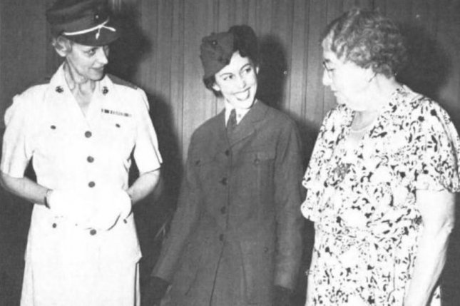 First female U S  Marine Opha May Johnson honored with monument