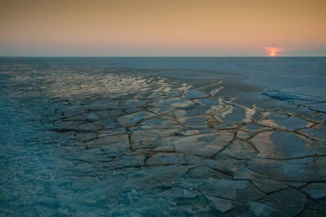 Sea ice in the Arctic is still on the decline, but new research suggests it is regrowing at faster rates during the winter than it was a few decades ago. Photo by NASA/Alek Petty