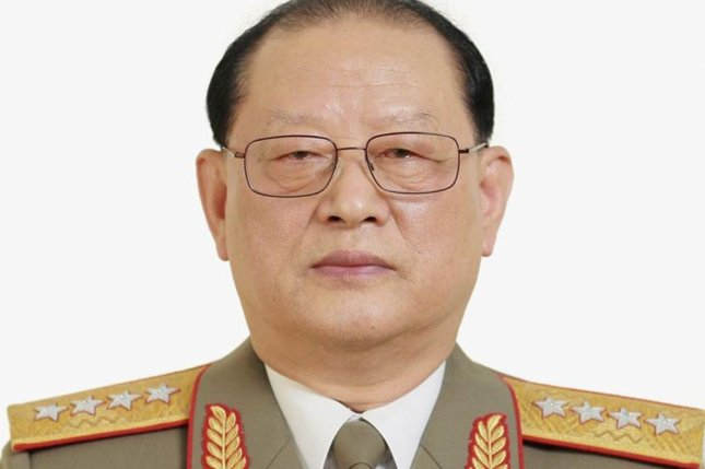 Former North Korea state security chief Kim Won Hong may have been removed from office in January, and more security officials are under scrutiny following the purge. File Photo by KCNA