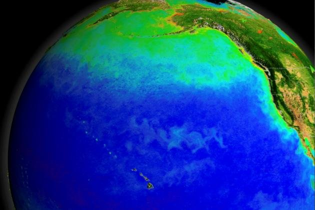 New research suggests shifts in the circulation of the North Pacific triggered the release of large amounts of CO2, helping to end the last ice age. Photo by University of St. Andrews