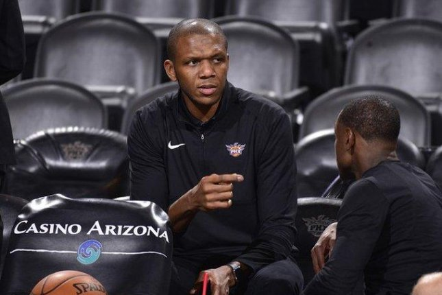 James Jones played 14 seasons in the NBA, winning three NBA titles, two with the Miami Heat and one with the Cleveland Cavaliers. He averaged 5.2 points per game playing in over 700 games in his career. File Photo by Twitter/PhoenixSuns