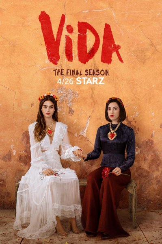 Vida, starring Melissa Barrera and Mishel Prada, will return for a third and final season April 26 on Starz. Photo courtesy of Starz