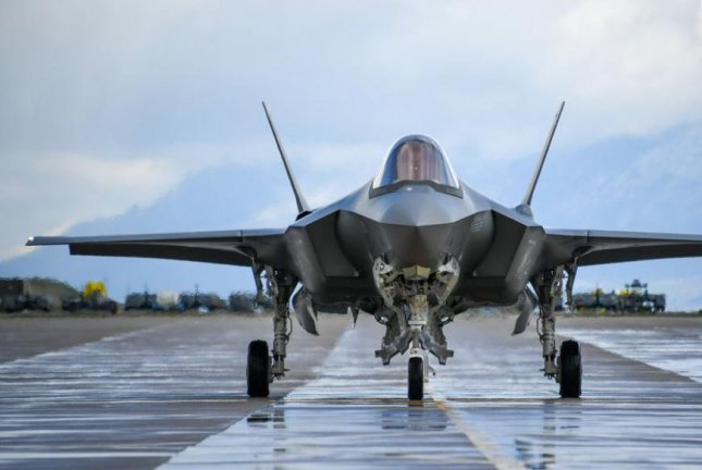 A Pentagon report last week said the cost of the F-35 program increased by $25 billion in 2018. Pictured, a U.S. Air Force F-35A at Hill Air Force Base in Utah. Photo by R. Nial Bradshaw/U.S. Air Force/UPI