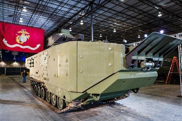 SAIC's upgraded Assault Amphibious Vehicle for the U.S. Marine Corps. Photo courtesy SAIC