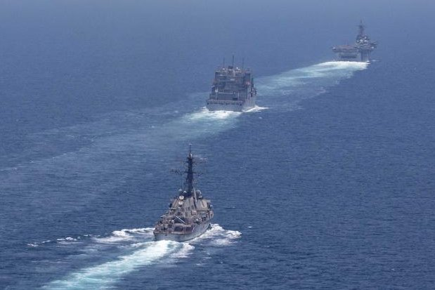 USA  warns carriers flying over Arabian Gulf of 'misidentification'