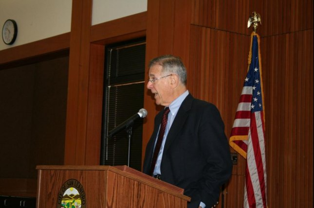 Pete Stark served in a northern California congressional district from 1972 to 2012. Photo by Fncis.chen/Wikimedia Commons