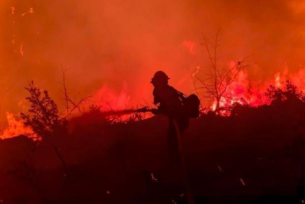 The 190,625-acre Dixie Fire in California has destroyed 16 structures while threatening 10,700 more in Butte and Plumas Counties, officials said Sunday. Photo courtesy InciWeb