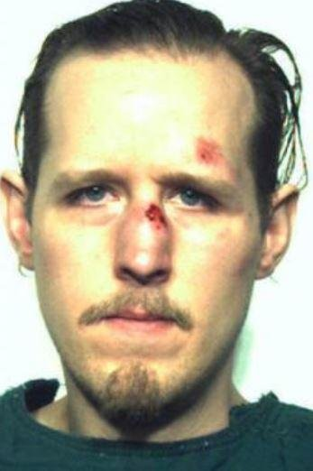 The police mugshot of Eric Frein after his capture in 2014. Frein was arrested in the shooting of two Pennsylvania police officers after a 48-day manhunt in 2014; jury selection in his trial, on murder and terrorism charges, begins Thursday. Photo courtesy of FBI/Pennsylvania State police/UPI