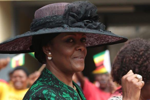 Robert Mugabe's wife accused of beating up model in Johannesburg hotel
