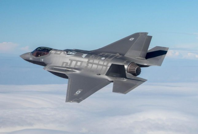 An Israeli Air Force F-35. Photo courtesy of Israeli Air Force