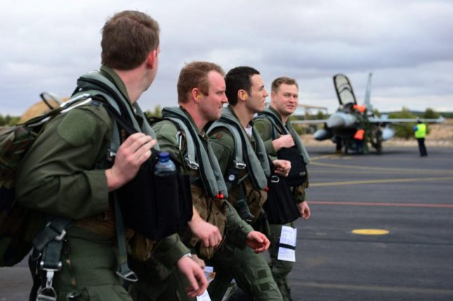 The U.S. Air Force faces a growing shortage of combat pilots. U.S. Air Force photo by Lausanne Morgan