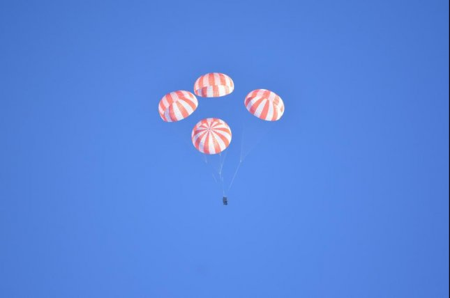 On Wednesday, January 27, 2015, in Arizona, SpaceX tested the parachutes that will help return astronauts from ISS as part of NASA's Commercial Crew Program. Photo by NASA
