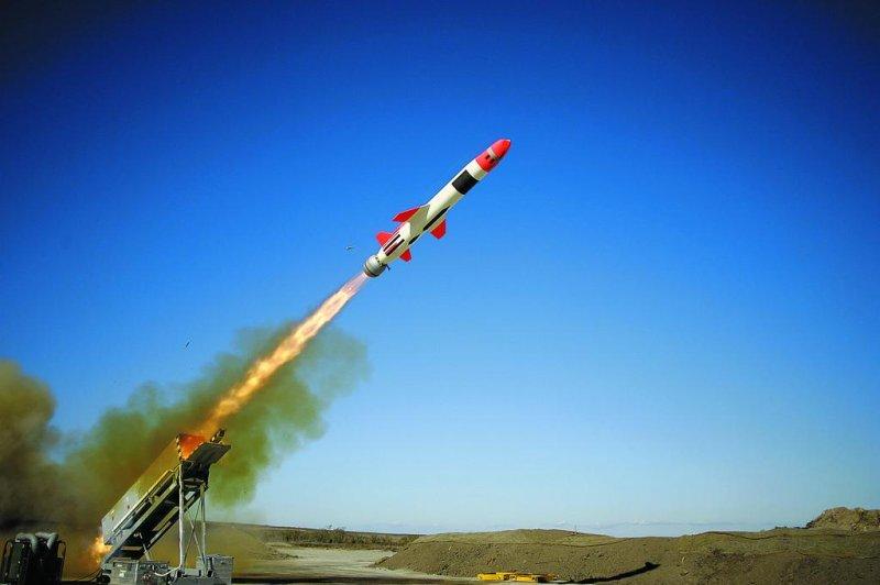 Kongsberg's Naval Strike Missile being launched. Photo courtesy Kongsberg Defense