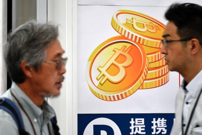 Japan has been calling for greater regulation of cryptocurrency exchanges. File Photo by Franck Robichon/EPA-EFE