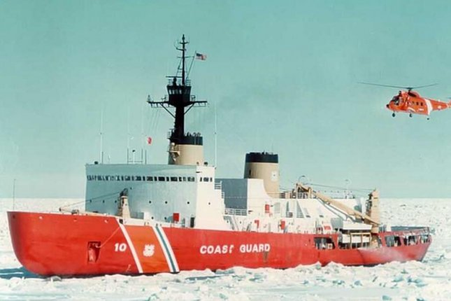 The 44-year old icebreaker USCGC Polar Star may be replaced by nuclear-powered ships, a White House memo suggested on Tuesday. Photo courtesy of U.S. Coast Guard