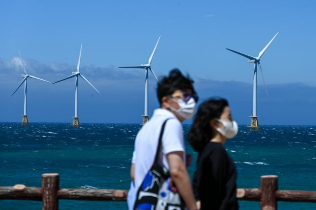 Jeju, one of South Korea's most popular tourist destinations, also is a hub for smart city and renewable energy projects. Photo by Thomas Maresca/UPI