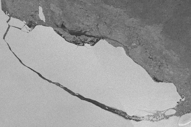Cracks are still spreading where that massive Antarctic iceberg broke free
