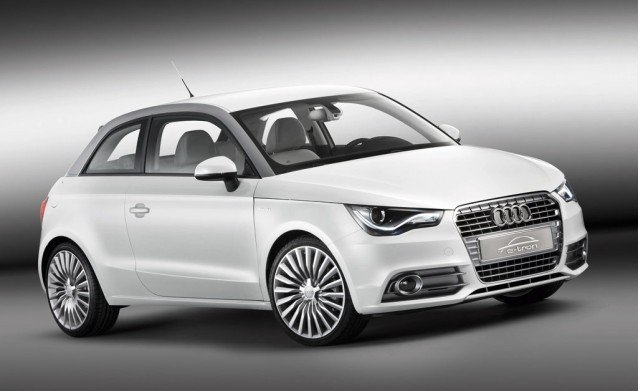 The Audi A1 e-tron concept car (pictured above). Audi's A2 Electric Hatchback is set to go on sale by 2013.