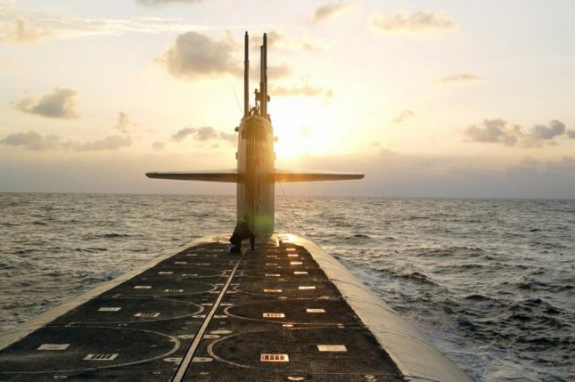 Women were filmed undressing or in the shower onboard the ballistic missile submarine the Wyoming, according to a Navy incident report. (Photo by Lt. Rebecca Rebarich/U.S. Navy)