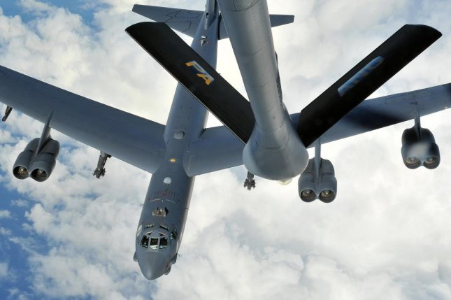 North Korea condemned the United States after a long-range U.S. B-52 bomber flew across South Korea airspace Sunday. File Photo Courtesy of U.S. Air Force/Flickr