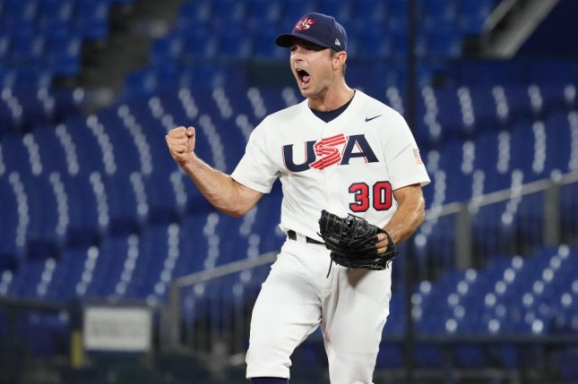 American Pitched David Robertson was awarded a save in Wednesday's win over the Dominican Republic. Photo by WBSC
