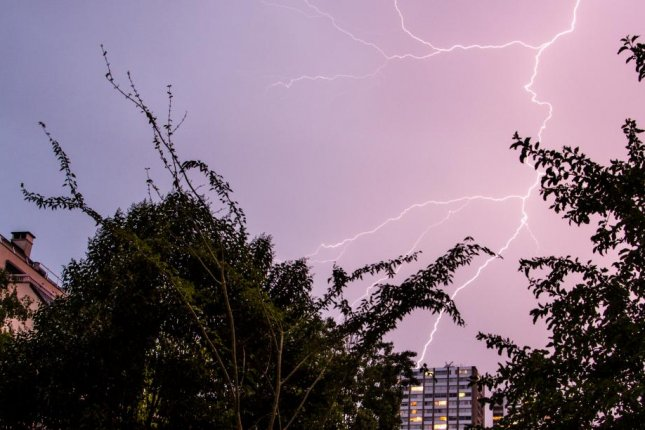 To study the link between lightning and gamma rays, searchers in Japan have installed a network of radiation detectors on the roofs of local schools and businesses. Photo by Yuuki Wada/University of Tokyo