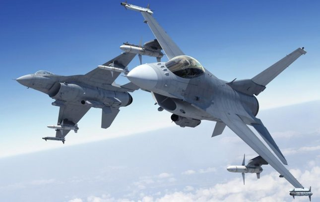 F-16 fighters, pictured, are among the equipment sought by and sold to U.S. allies. Photo courtesy of Lockheed Martin